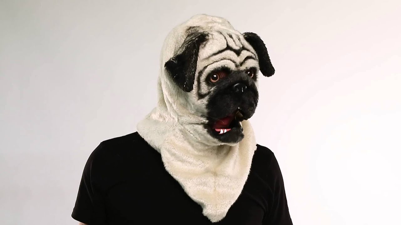 pug moving mouth mask spirit halloween youtube - Spirit Halloween Vancouver