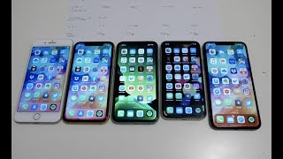 Apple iPhone 2019 Vergleich - iPhone 11 Pro vs 11 vs XR vs 8