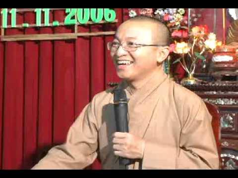 Thức Và Thân Trong Tái Sinh (25/11/2006) Thích Nhật Từ