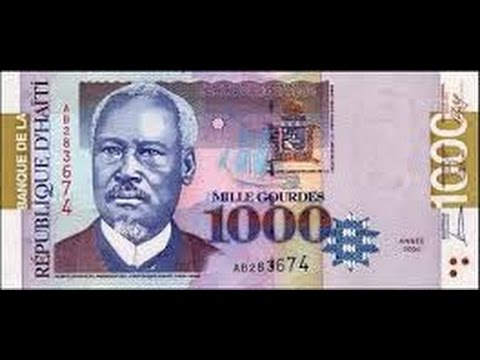 Currency Between The Haitian GDES And USD Dollar