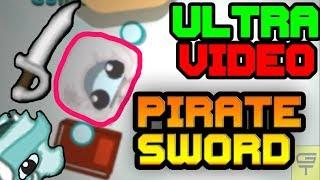 STARVE.IO - ULTRA EDIT VIDEOS #1 // +192K PIRATE SWORD + DRAGON HELMET