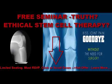 stem cell shot alternative to knee replacement ohio