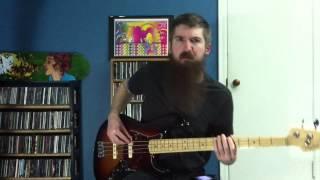 Deftones- 7 words- Bass cover