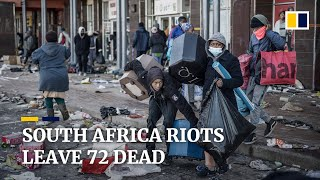 South Africa riots death toll hits 72 as ex-president Jacob Zuma starts jail term