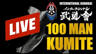 100 MAN KUMITE OF CEM SENOL LIVESTREAM || INTERNATIONAL BUDOKAI