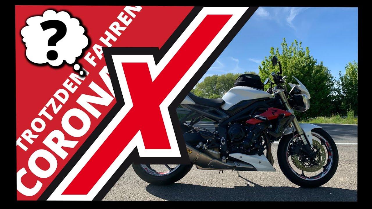Motorradfahren Während Corona