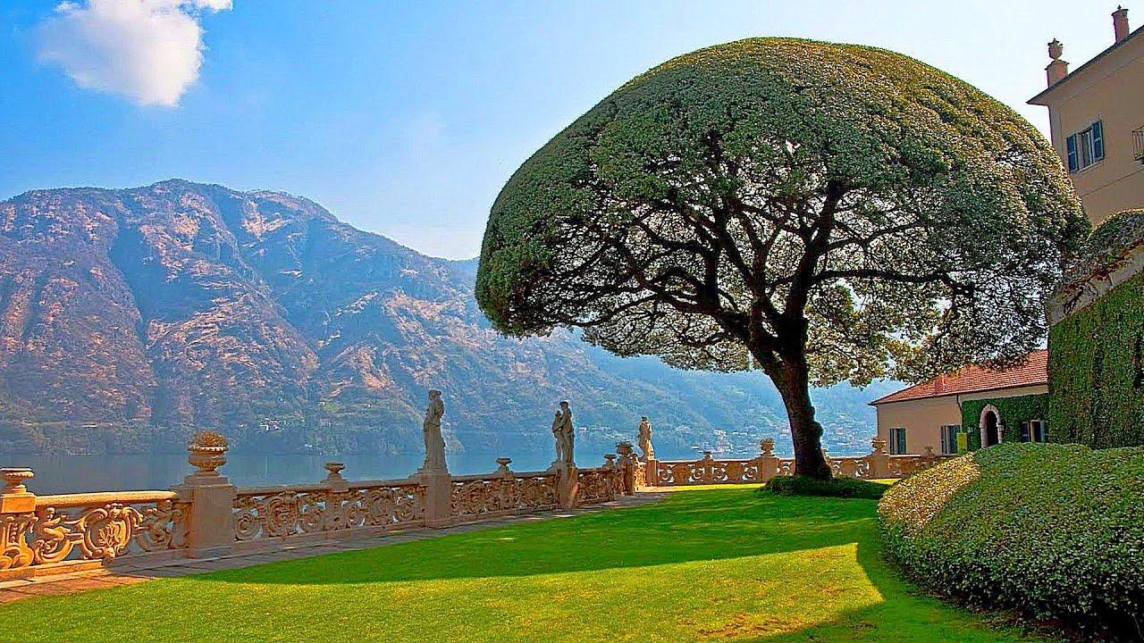 The Amazing Luxurious Villas of Lake Como Italy (Part 2) - YouTube