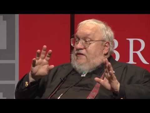 An Evening with George R. R. Martin and Publisher Tom Doherty at the Brown University Library