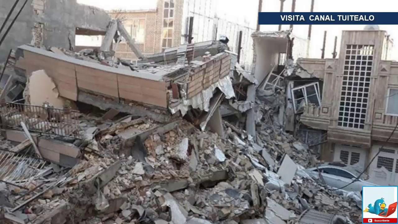 Terremoto en Irán deja más de 700 heridos Sismo 26 Noviembre 2018