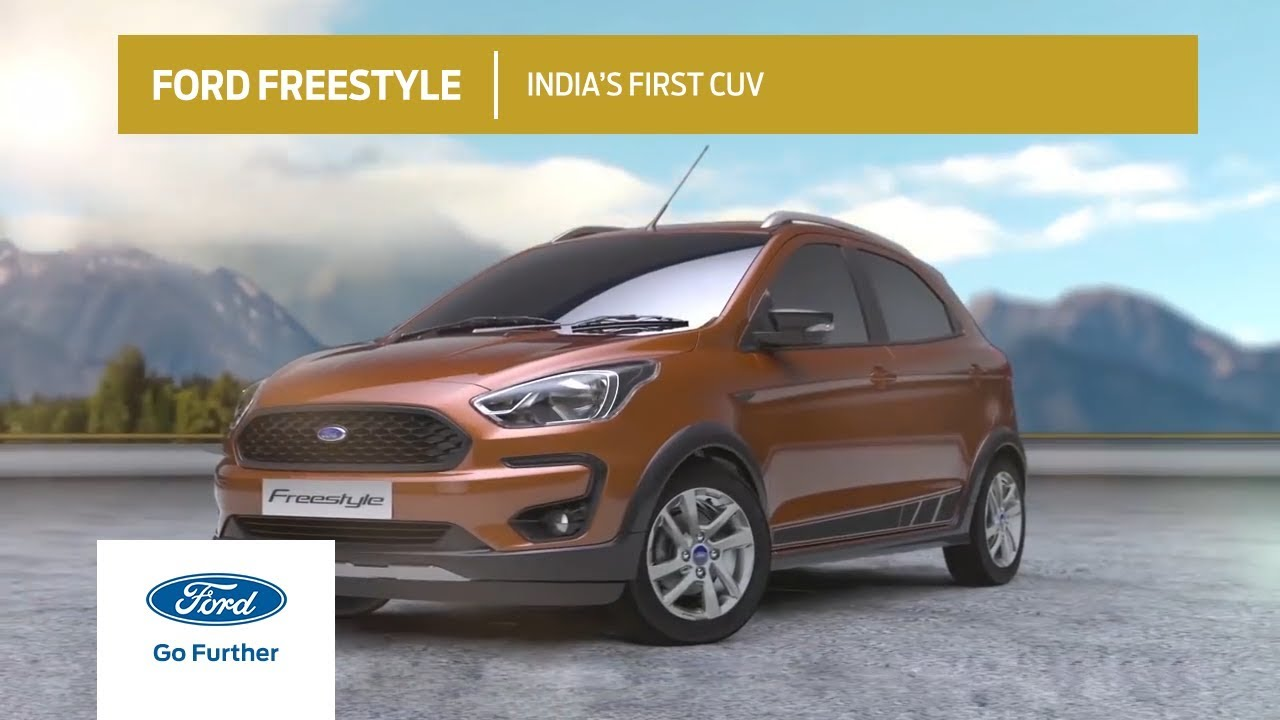 Cuv Car Ford Freestyle Here Is The First Look Of India S First Cuv Ford India