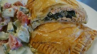 Salmon en croute  (Simple meal)