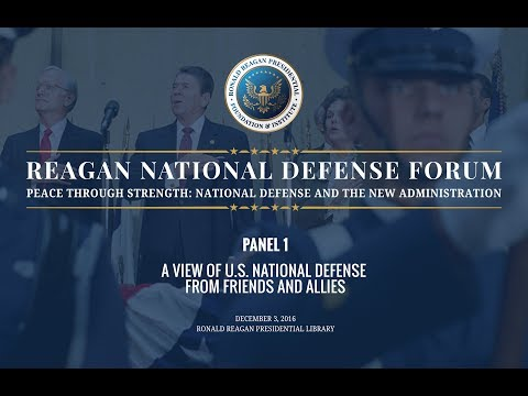 Panel 1 from 2016 Reagan National Defense Forum