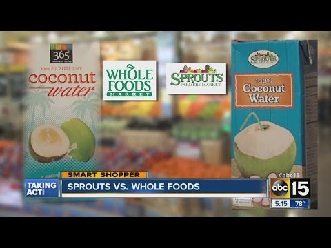 Sprouts vs. Whole foods