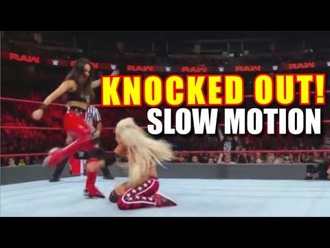 Brie Bella Knocks Out Liv Morgan! | SLOW MOTION (VIDEO) Sept. 24th 2018