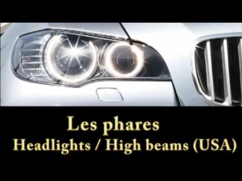 French lesson: Car vocabulary in French