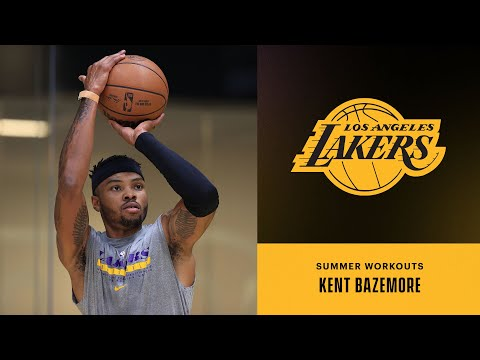 Kent Bazemore is in the building | Lakers Summer Workouts