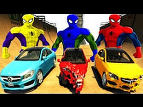 Children's programs, The Confrontation With The Police Spider Supercar With Color