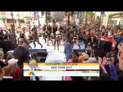 Christina Aguilera   Fighter Live on ''Today'' NBC Program