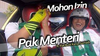Download Video NGEDRIFT Bareng Menteri Perhubungan RI Bpk Budi Karya MP3 3GP MP4