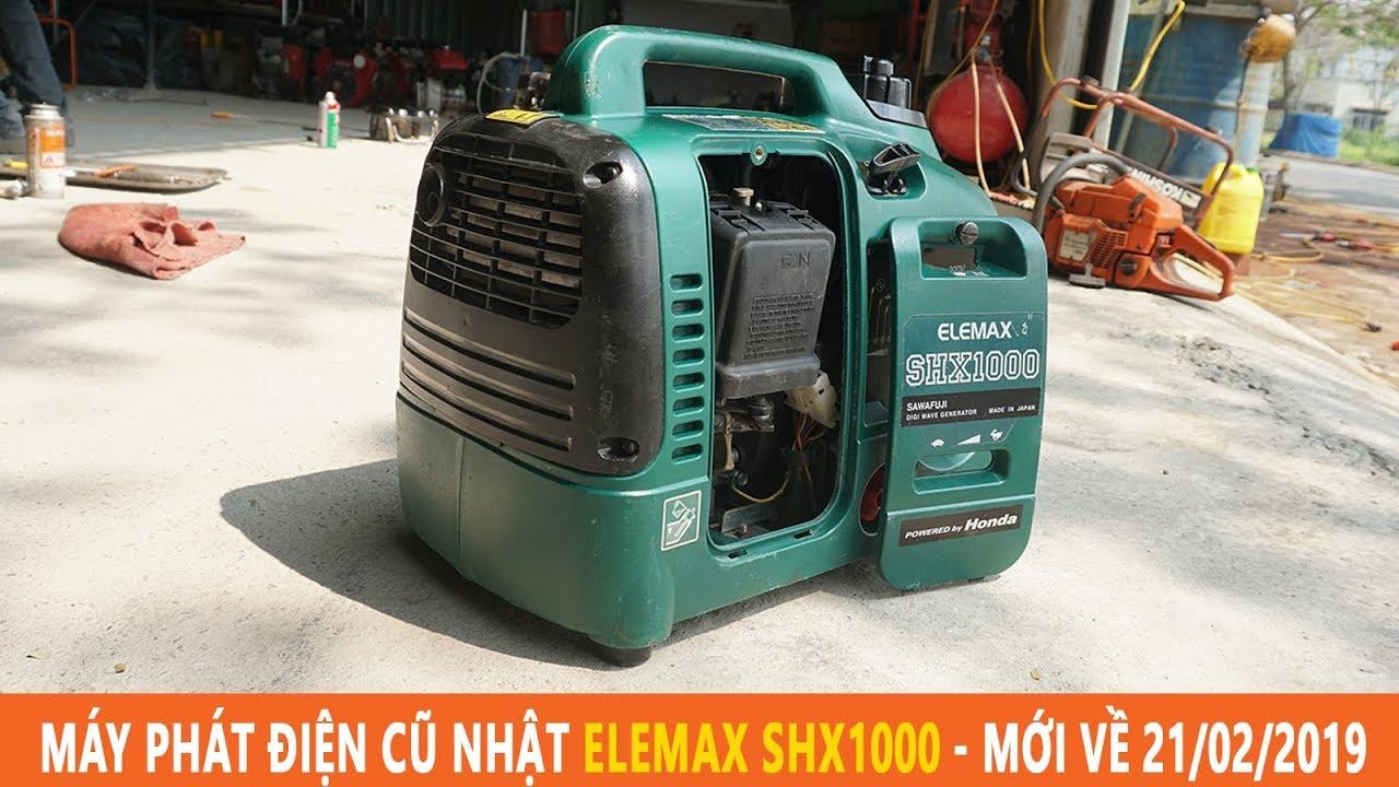 Máy Phát Điện Nhật Elemax SHX1000 Công Suất 1.0kva Mới Về 21/2/2019