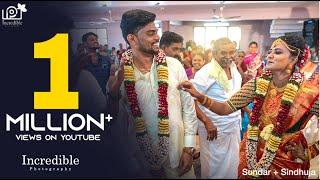Wedding Bride+Groom Dance Video |  #DharalaPrabhu | Sundar + Sindhuja