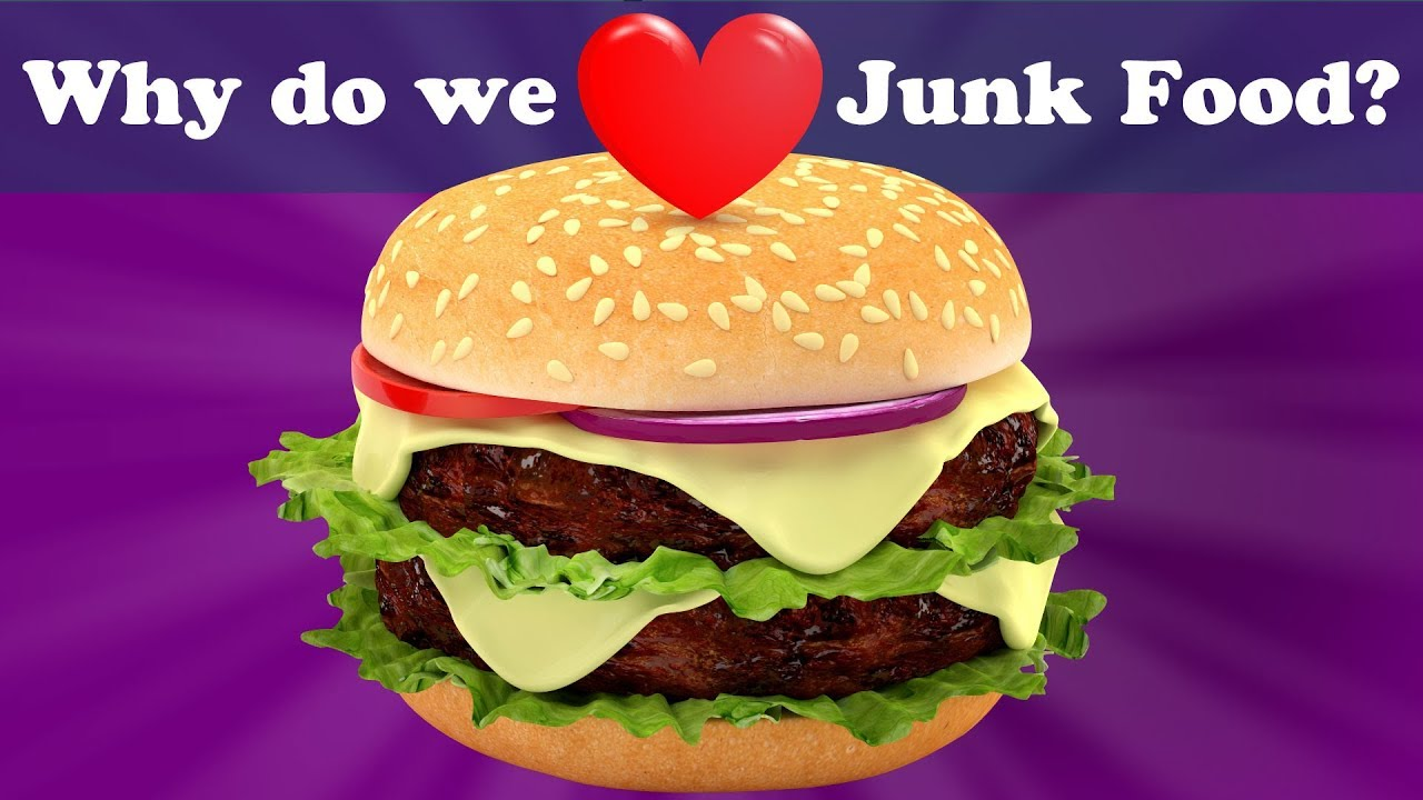 Why do we Love Junk Food? + more videos | #aumsum #kids #science #education #children