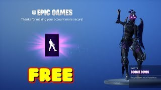 HOW TO GET THE NEW BOOGIE DOWN EMOTE FOR FREE IN FORTNITE