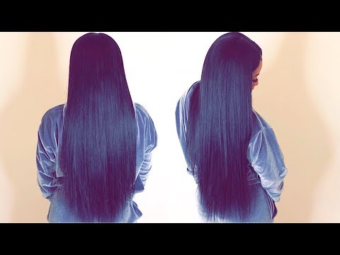 Natural Quick Weave Tutorial with Leaveout ft MARCUEEN BRAZILIAN BODY WAVE😍