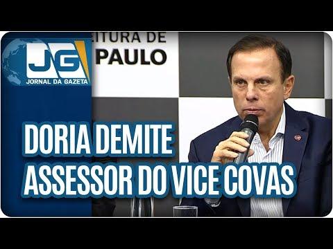 Doria demite assessor do vice Covas