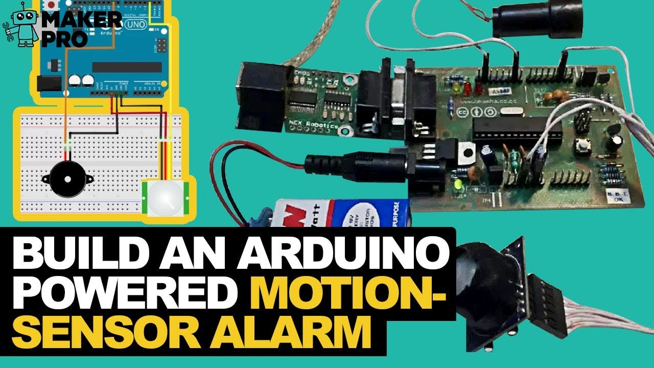 Arduino Motion Sensor Alarm Easy Tutorial Youtube