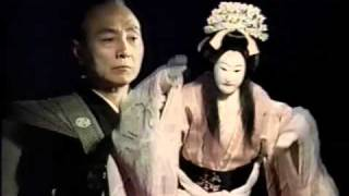 広島人の記憶に残るCMの1つ、川通り餅のCMのうち、1990年頃の文楽人形篇...