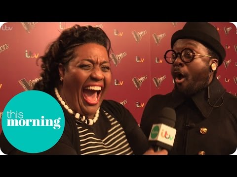 Alison Gets Flirty With Will.i.Am On The Voice Red Carpet | This Morning