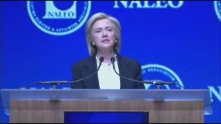 Hillary Clinton Takes a Veiled Shot at Donald Trump