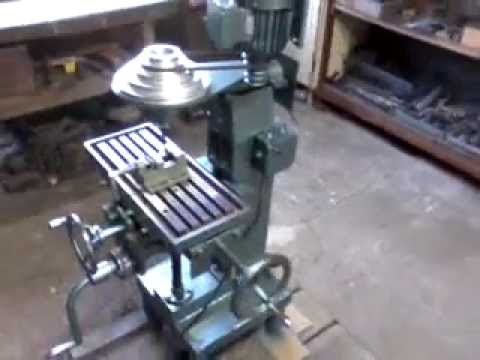 Ogromny Mini frezarka. mini milling machine - YouTube OT19