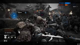 Vyse For Honor Two Noobs in an Exhaustion Battle