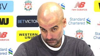 Liverpool 4-3 Manchester City - Pep Guardiola Post Match Press Conference - Premier League #LIVMCI