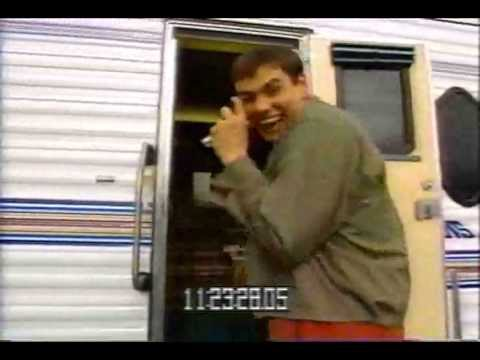 Filming Dumb and Dumber  Jim goofing around