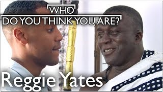 Reggie Yates Meets Tribal Paramount Chief | Who Do You Think You Are