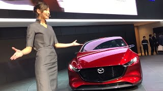 2017/10/27 TOKYO MOTOR SHOW: MAZDA Booth's Stage