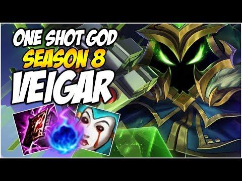 ONE SHOT GOD VEIGAR, SEASON 8 | League of Legends