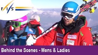 KITZBUEHEL 2013 -  The most awesome Downhill in the world! - Behind the Scenes - Mens & Womens
