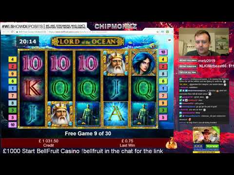 REAL MONEY STREAM ENG £1000 Start BellFruit Casino
