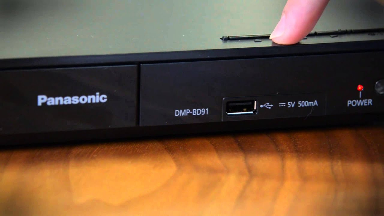 panasonic dmp bd91 blu ray player hands on youtube rh youtube com Remote Panasonic DMP Bd75 Panasonic DMP Bd75 Manual