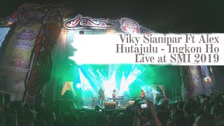 VIKY SIANIPAR FT ALEX HUTAJULU - INGKON HO (LIVE @ SAMOSIR MUSIC INTERNATIONAL 2019)