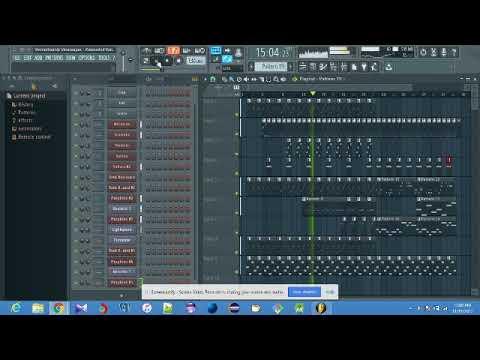 Vinnaithaandi Varuvaayaa - Kannukkul Kannai | A.R. Rahman - FLStudio (Instrumental)