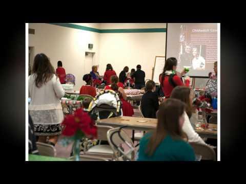 Christian Women's Fellowship Christmas Party 2014 Camp Pendleton