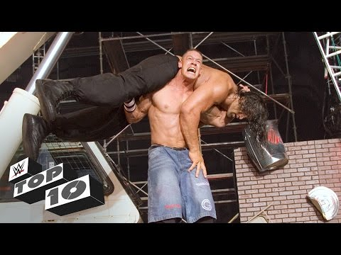 Amazing feats of strength WWE Top 10