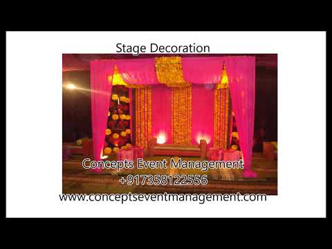 Stage Decoration - Concepts Event Management +917358122556 Chennai