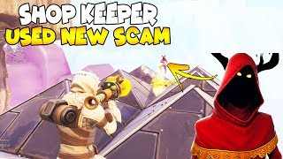 Shop Keeper Used a NEW SCAM 😱 (Scammer Gets Scammed) Fortnite Save The World