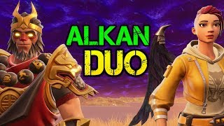 DUO WITH ALKAN - Fortnite PRO Player